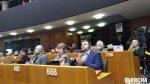 Валянцін Стэфановіч, Любоў Кавалёва і Андрэй Палуда на адкрыцці Сусветнага кангрэсу супраць смяротнага пакарання