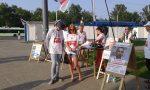 Могилев. Сбор подписей в поддержку выдвиженцев от правоцентристской коалиции.