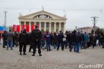 Monitoring report on the street action on 1 May in Minsk
