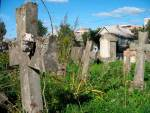 Khotsimsk contender for Parliament resists canvassing for votes in cemetery