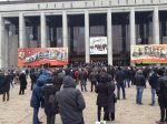 Several people detained in May Day protests across Belarus