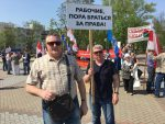 Protesters detained on May Day in Minsk