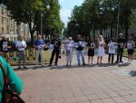 Minsk: picket in support of political prisoners held in front of KGB