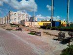 Віцебск. Месца правядзення агітацыйных пікетаў, вызначанае мясцовымі ўладамі.