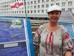 Таццяна Севярынец падала скаргу на міліцыянера, які абвінаваціў патэнцыйных кандыдатаў у несанкцыянаваным пікетаванні