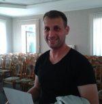 Мозырь. Роман Скуратовский, который не был зарегистрирован кандидатом в депутаты.