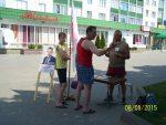 Першыя альтэрнатыўныя пікеты ў Смаргоні – за Лябедзьку (фота)