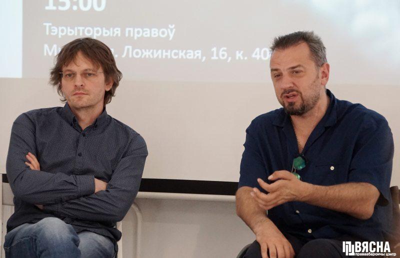 Леонид Калитеня и Сергей Дроздовский