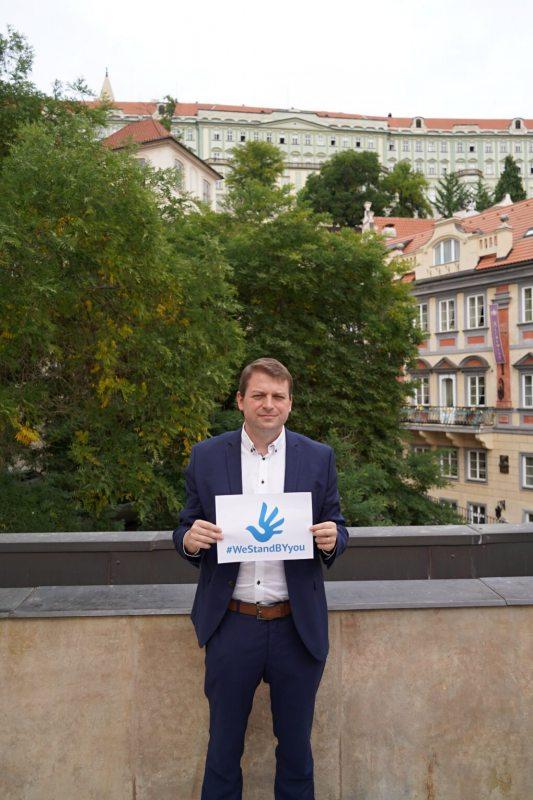 Tomáš Martínek, member of the Czech Parliament