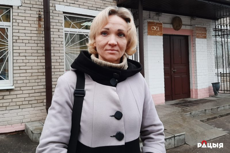 Ірына Траццякова. Фота Радыё Рацыя