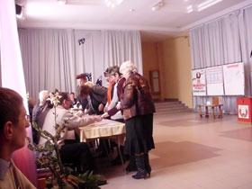 Трэнінг для УВК у Бялынічах падчас прэзідэнцкіх выбараў-2010