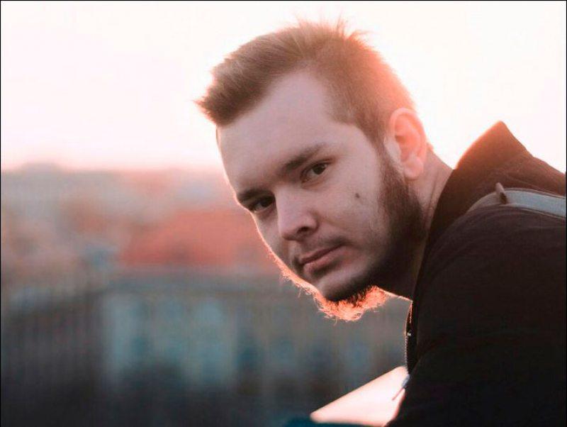 Блогер Ягор Тубелевіч. Фота з сацыяльных сетак.