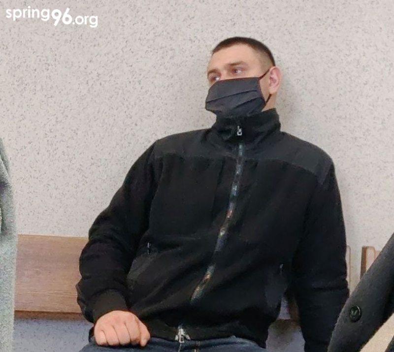 Сотрудник ОМОНа Дайнеко