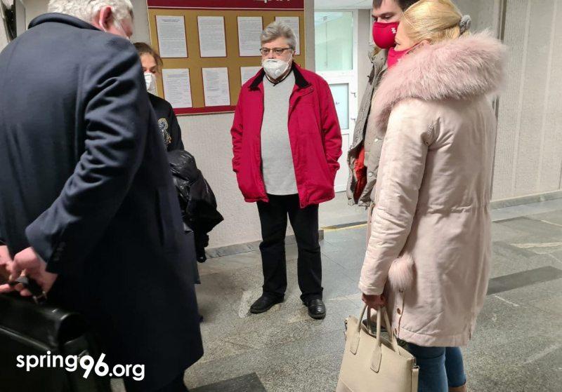 Перед судом над Владимиром Урбаном
