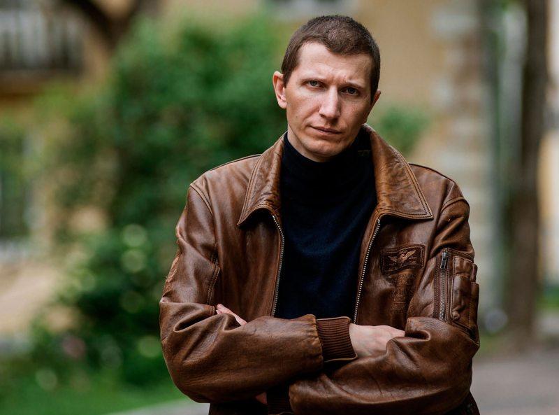Правозащитник Сергей Устинов.