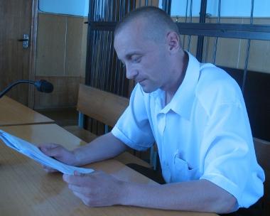Аляксандр Вайцешык у судзе