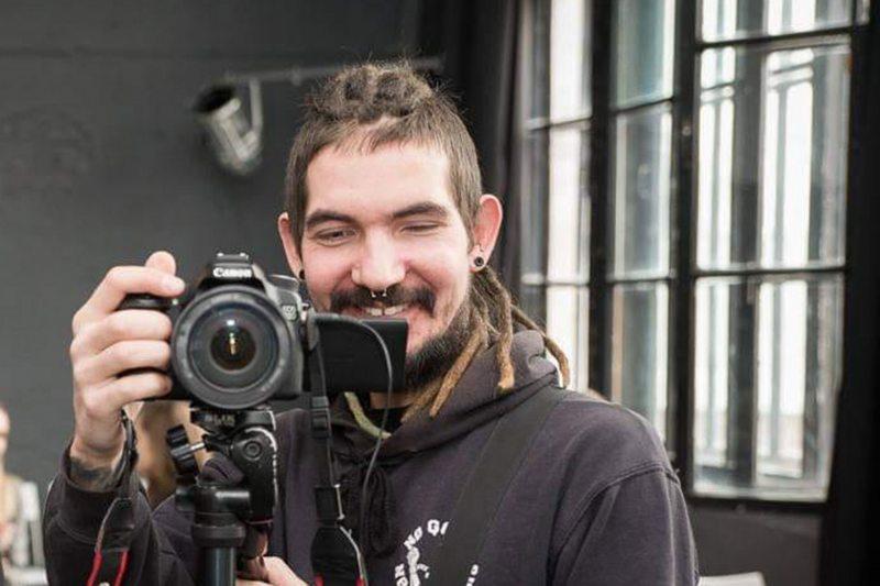 Журналіст Аляксандр Вялітчанка. Фота з фэйсбука