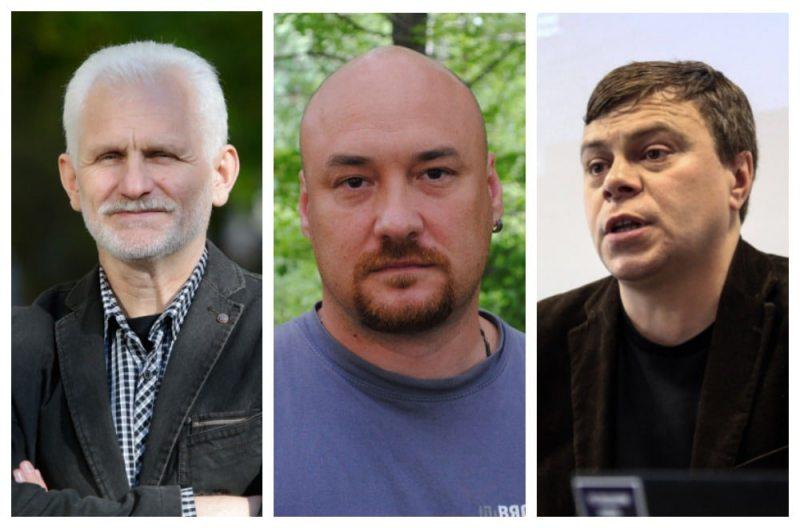 Алесь Бяляцкі, Валянцін Стэфановіч, Уладзімір Лабковіч