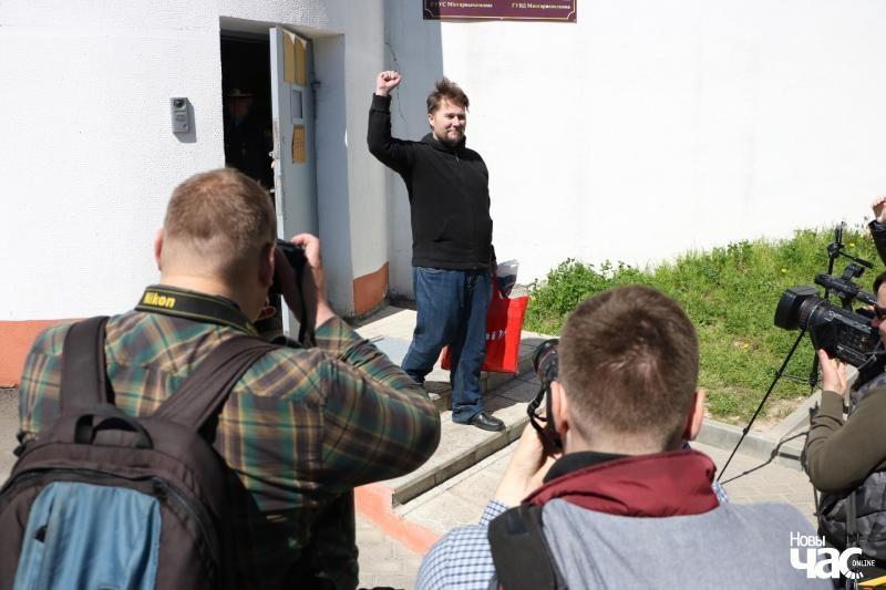 Максим Винярский после ареста. Фото: