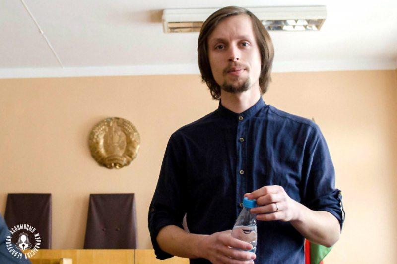 Журналіст-фрылансер Віталь Скрыль. Фота: БАЖ