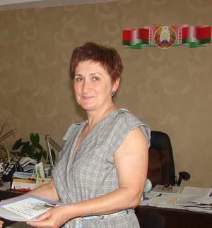 Раіса Захарыч, старшыня Смаргонскай акруговай камісіі